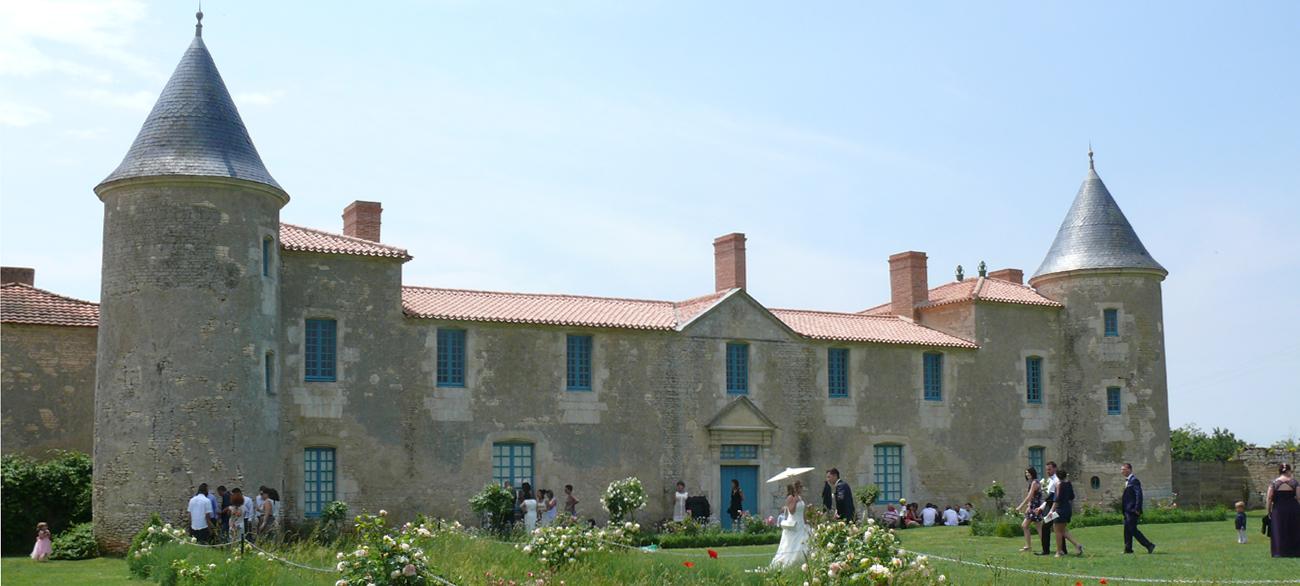 Chateau de la Chevallerie - Mariages et Receptions - Vendee