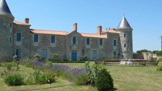 Chateau de la Chevallerie jardin