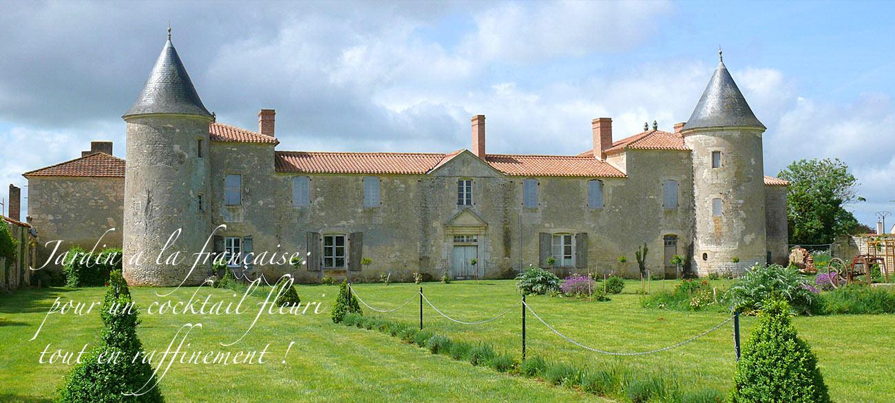 chateau de la Chevallerie - Mariages et receptions - Vendee.