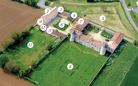 Chateau de la Chevallerie - vendee